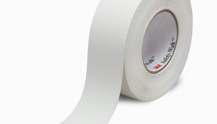 3M Safety walk slip resistant fine resilient tapes and treads 200 series 220 clear 280 white
